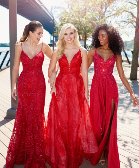 Evening gowns and Prom dresses gallery